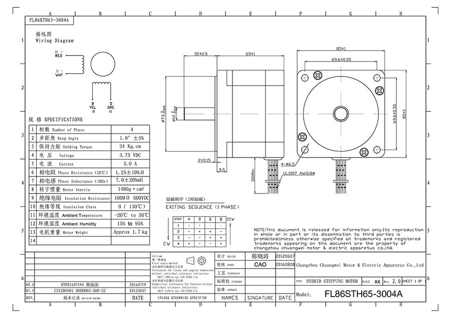 FL86STH65-3004A