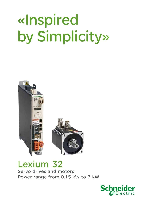 Сервоприводы Schneider Lexium 32 купить